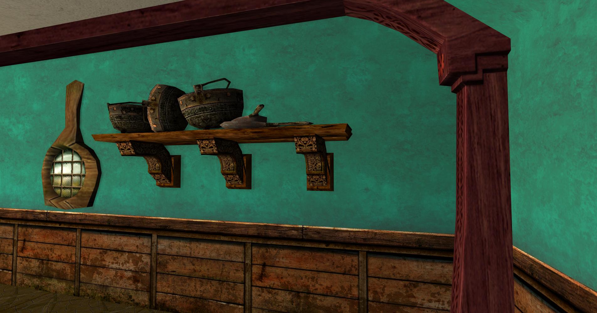 Étagère de pots des Rohirrim