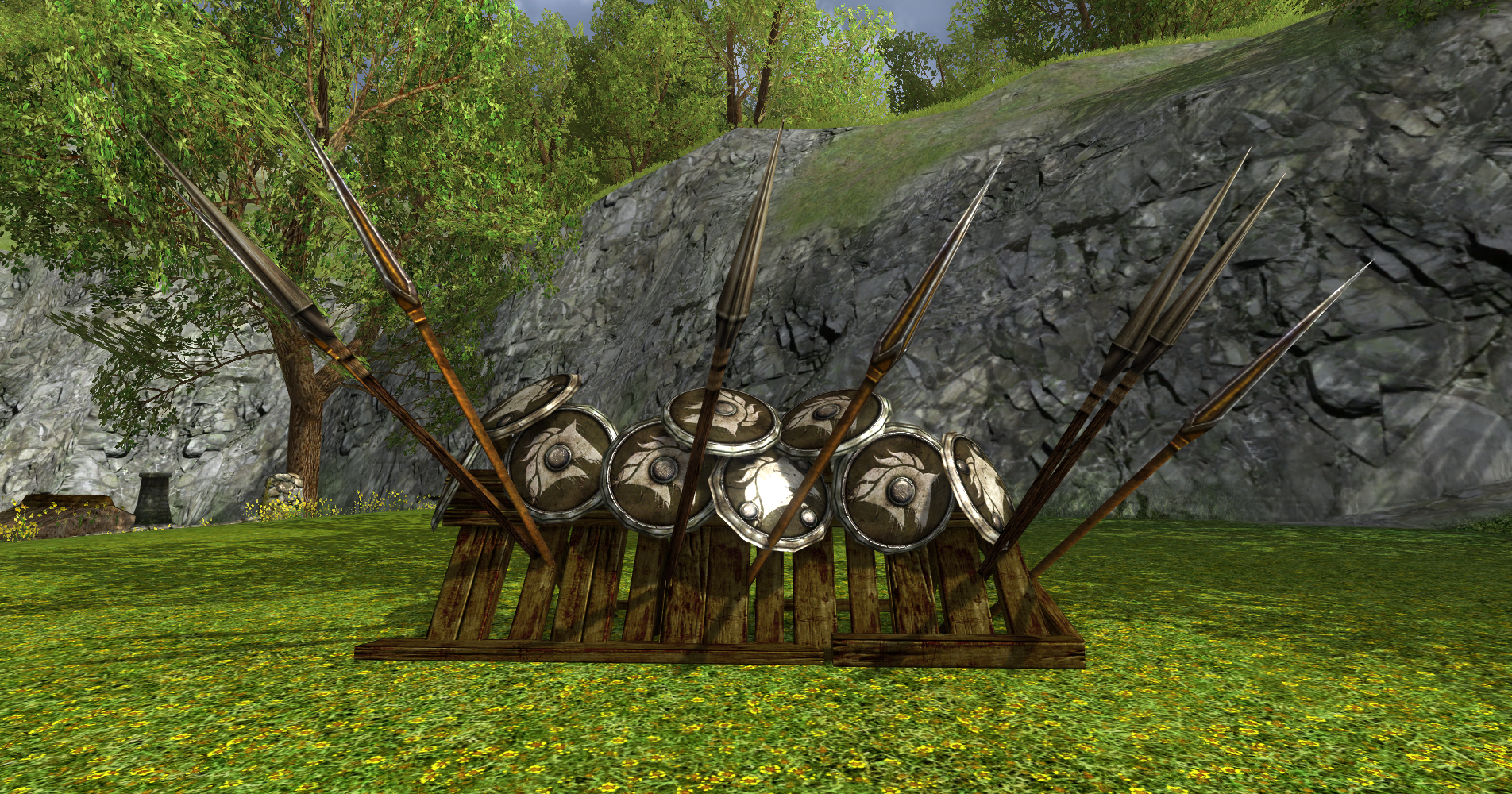Grande barricade des Rohirrim