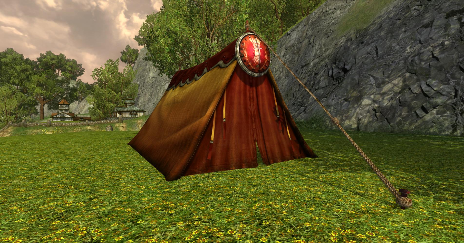 Tente des Sutcrofts