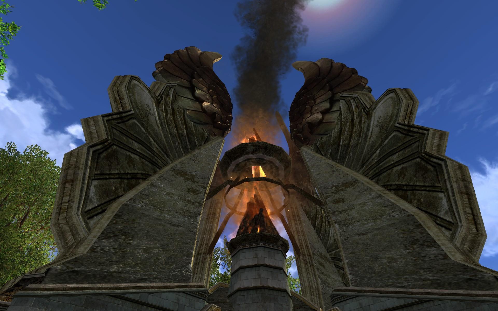 Petit feu d 39 alarme du gondor d co du milieu for Alarme feu maison