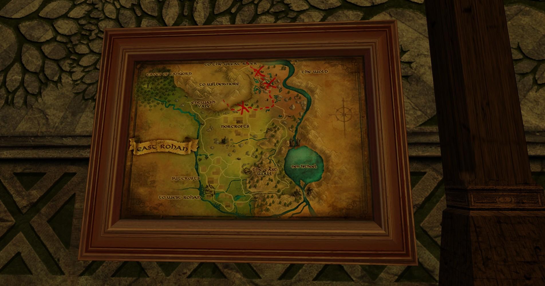 Grande carte de Bingo dans le Rohan Est