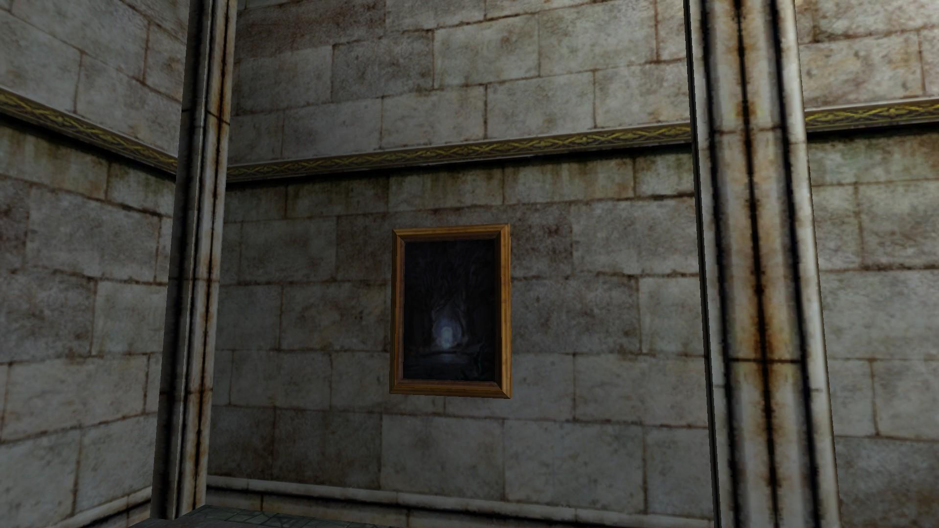 Tableau: Les Portes de la Moria